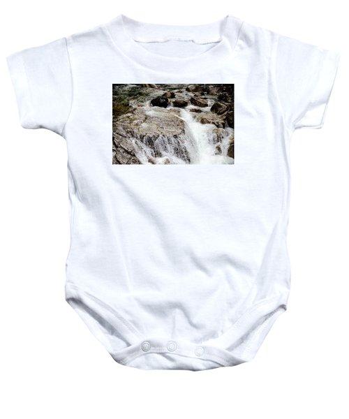 Backroad Waterfall Baby Onesie
