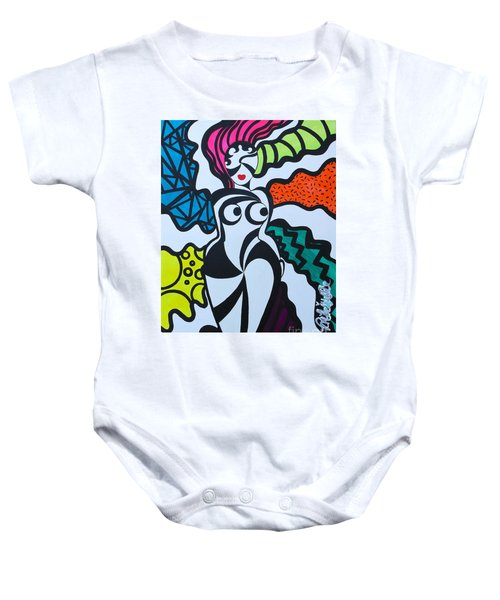 Never A Flaw Summertime Fine Baby Onesie