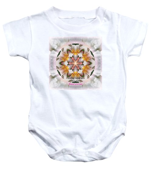 The Heart Knows Custom Baby Onesie