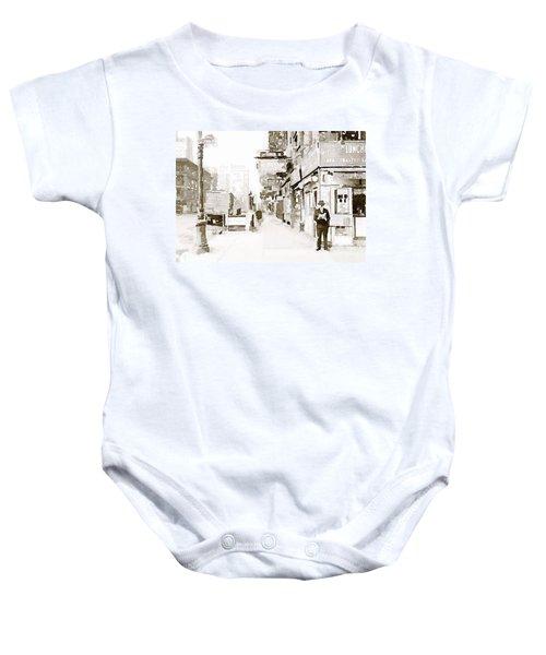 New York 1940 Baby Onesie
