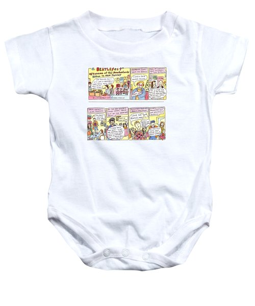 New Yorker April 4th, 1994 Baby Onesie
