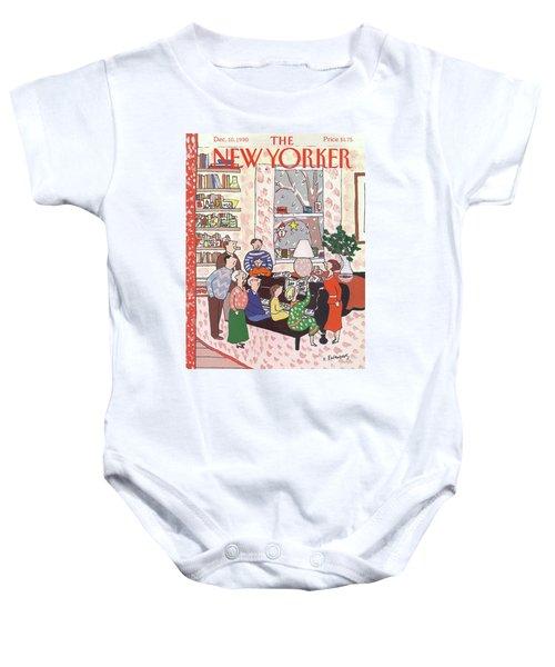 New Yorker December 10th, 1990 Baby Onesie