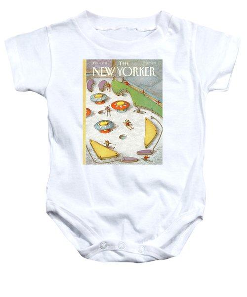 New Yorker February 4th, 1991 Baby Onesie