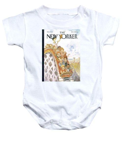 New Yorker July 1st, 2002 Baby Onesie