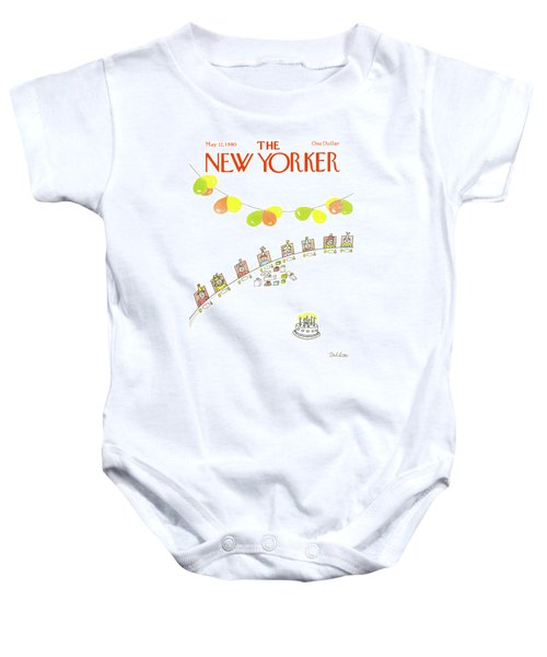 New Yorker May 12th, 1980 Baby Onesie