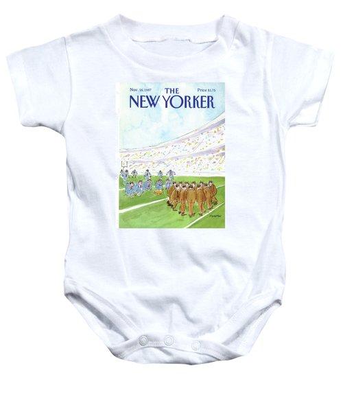 New Yorker November 16th, 1987 Baby Onesie