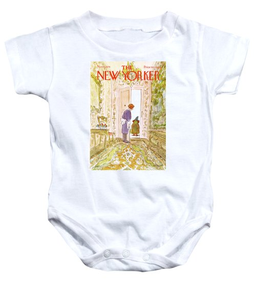 New Yorker November 4th, 1974 Baby Onesie