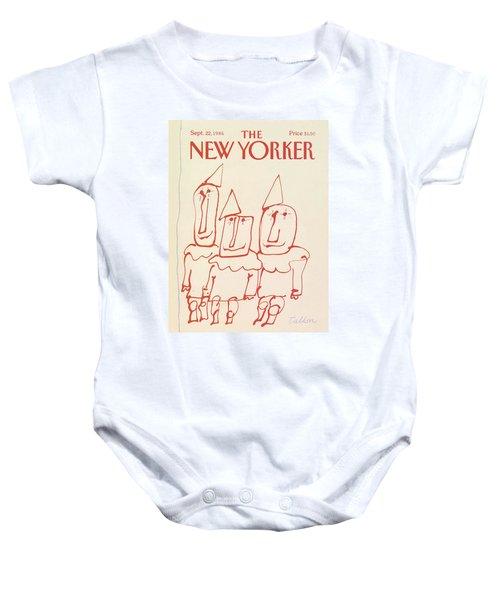New Yorker September 22nd, 1986 Baby Onesie
