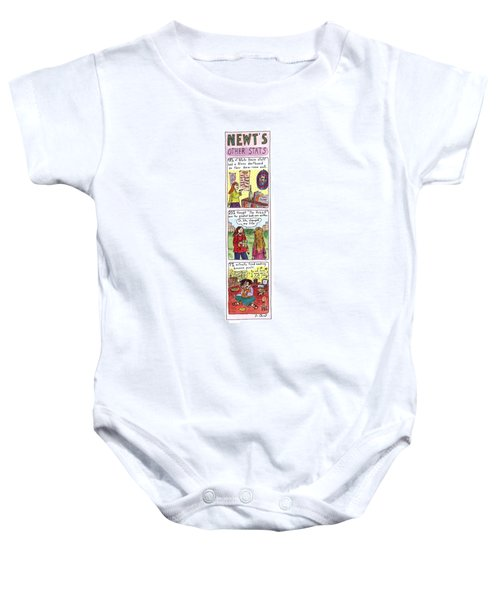 Newt's Other Stats Baby Onesie by Roz Chast