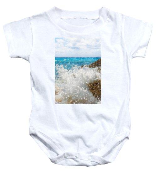 Ocean Spray Baby Onesie
