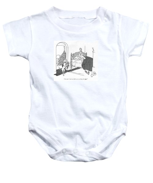Oh, Dear! And We Didn't Get Anything For Him! Baby Onesie