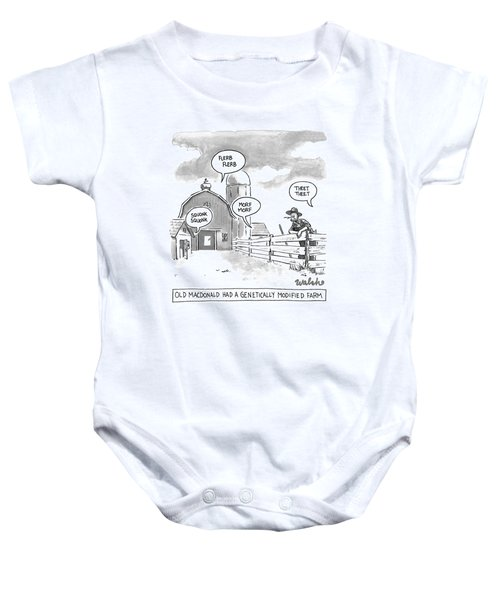 5b3ab5f8e Genetically Modified Food Baby Onesies | Fine Art America