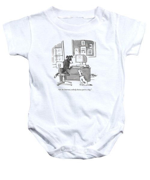 On The Internet Baby Onesie