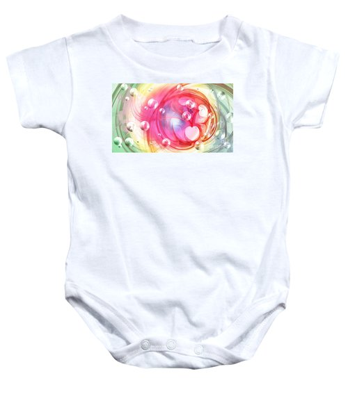 One Love... One Heart... One Life Baby Onesie