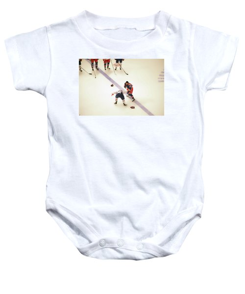 One Two Punch Baby Onesie