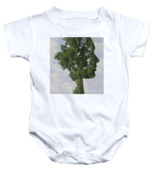 One With Nature Baby Onesie