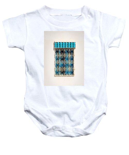 Oriental Window Baby Onesie