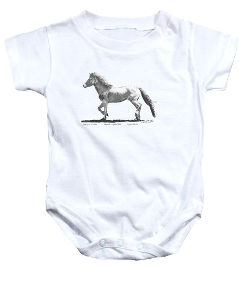 Oshunnah Stepping Out For Freedom Baby Onesie