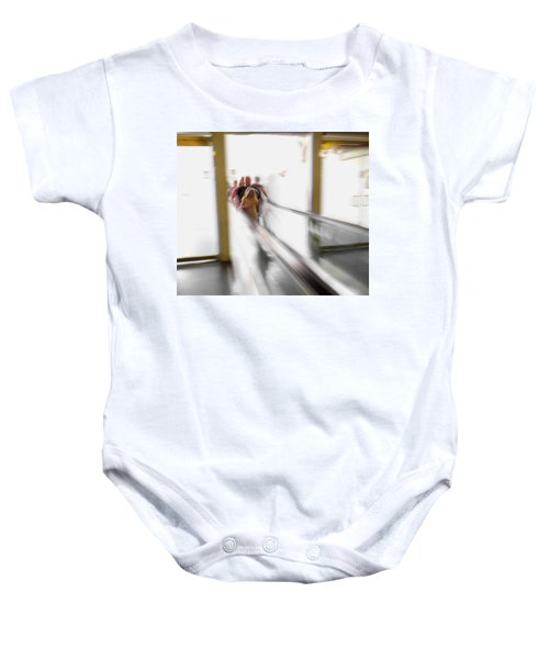 Baby Onesie featuring the photograph Out Of Thin Air by Alex Lapidus