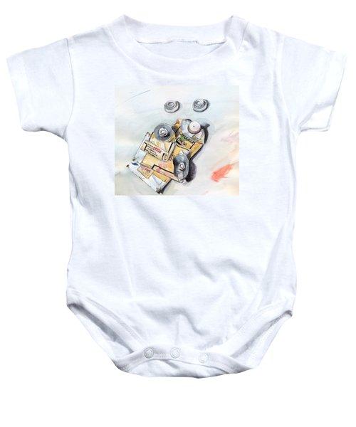Paint Tubes Baby Onesie