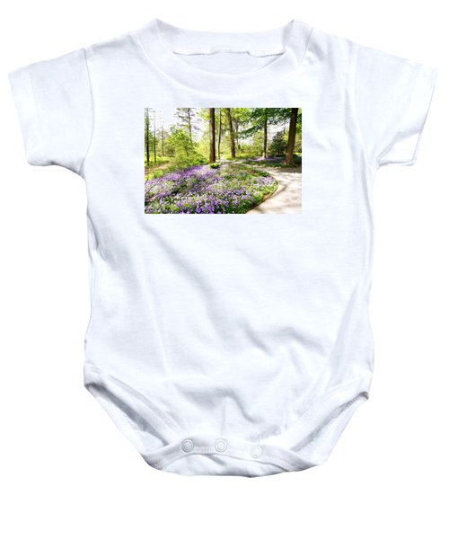 Path Of Serenity Baby Onesie