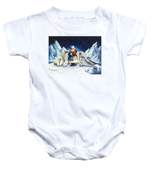 Peace On Earth  Baby Onesie