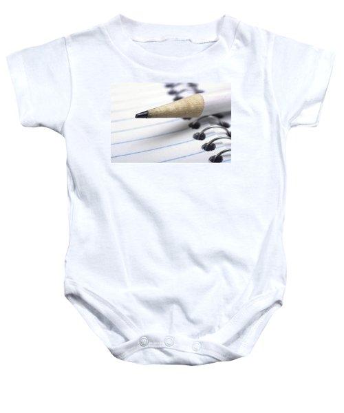 b3104c63b Pencil Lead Baby Onesies | Fine Art America