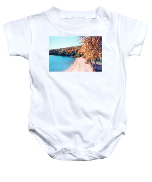 Pennsylvania Autumn 001 Baby Onesie