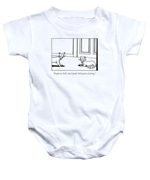 People Are O.k Baby Onesie