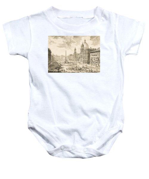 Piazza Navona Baby Onesie