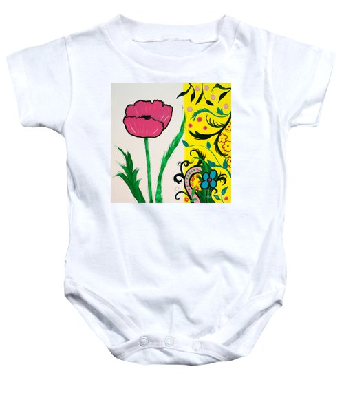 Pink Poppy And Designs Baby Onesie
