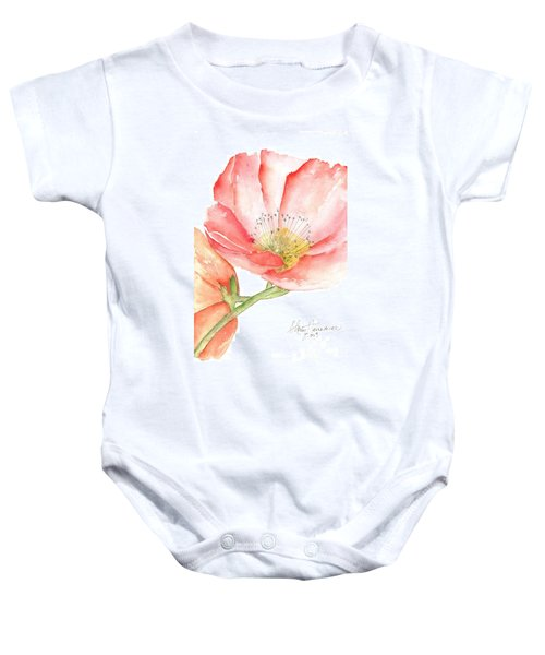 Poppy Bloom Baby Onesie