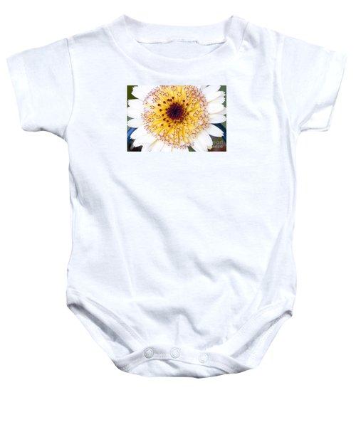Pot Marigold Citrus Smoothies Baby Onesie