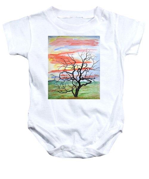 Rainbow Mesquite Baby Onesie