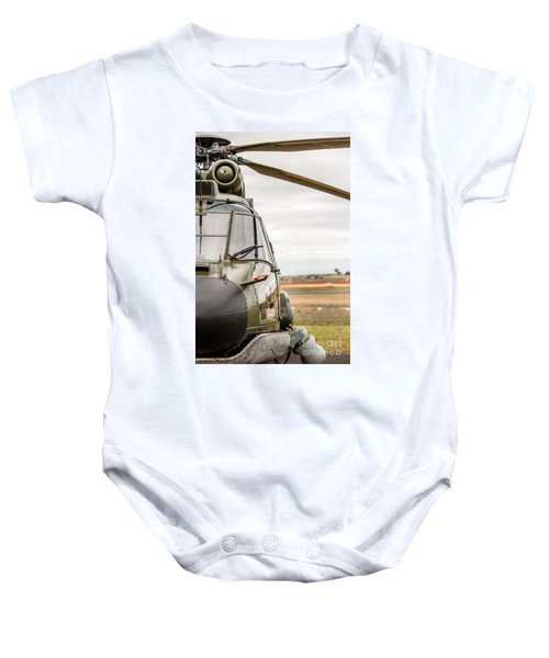 Ready For Action II Baby Onesie