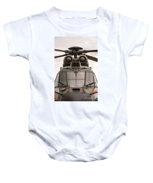 Ready For Action Baby Onesie