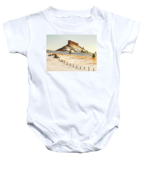 Red Butte Baby Onesie