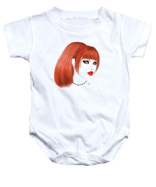 Redhead Cassia Baby Onesie