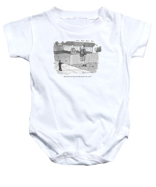 Remember How Big And Clunky The First Ones Were? Baby Onesie