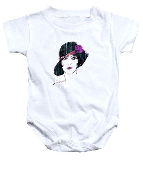 Retro 3d Baby Onesie