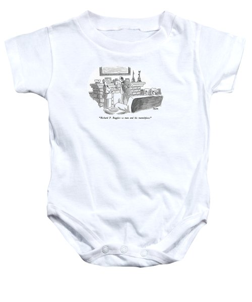 Richard P. Ruggles - A Man And His Mantelpiece Baby Onesie