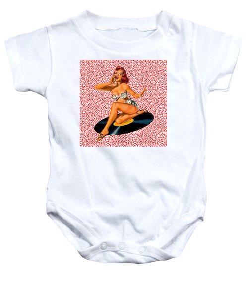 Rockabilly Goddess Baby Onesie