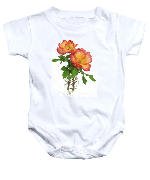 Rose 'playboy' Baby Onesie