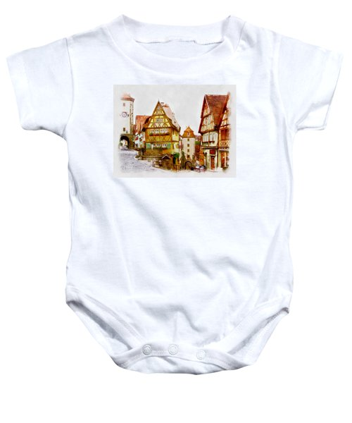 Rothenburg Baby Onesie