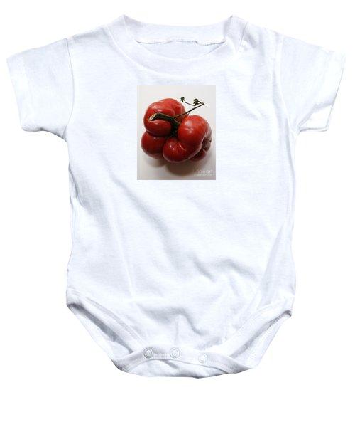 Roys Tomato Baby Onesie