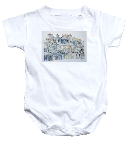 Rue Du Rivoli Paris Baby Onesie
