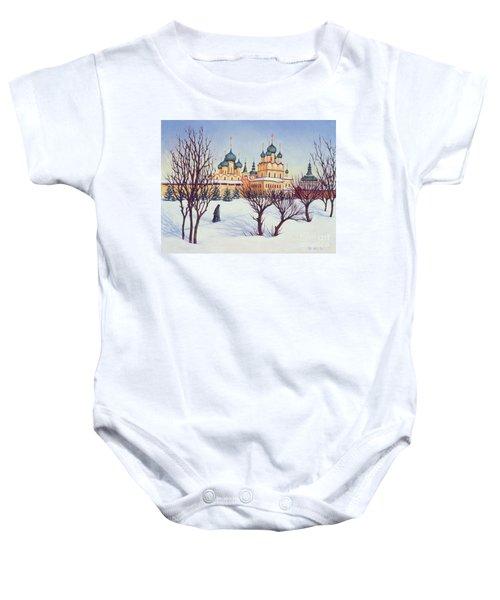 Russian Winter Baby Onesie