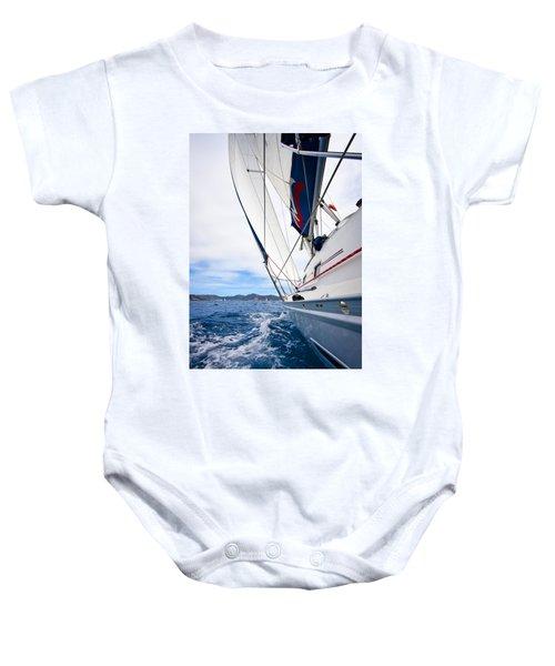 Sailing Bvi Baby Onesie
