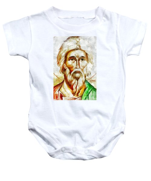 Saint Andrew  Baby Onesie