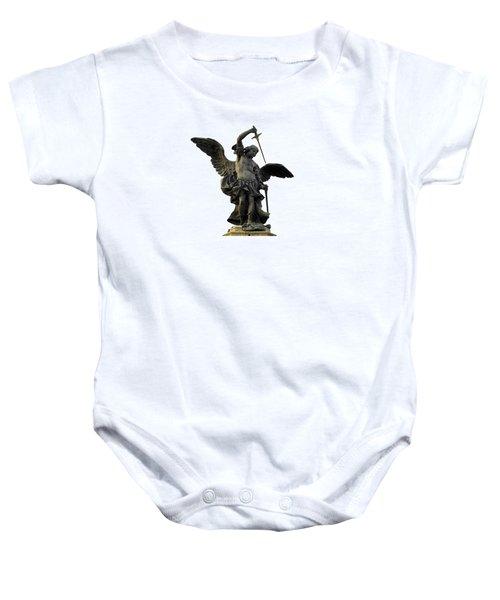 Saint Michael Baby Onesie